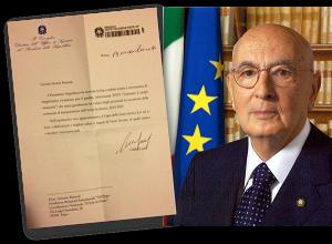 ANTER-Presidente della Repubblica Giorgio Napolitano