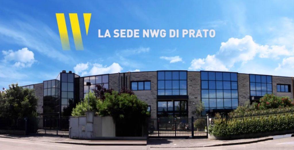 la sede dell'azienda NWG Energia a Prato