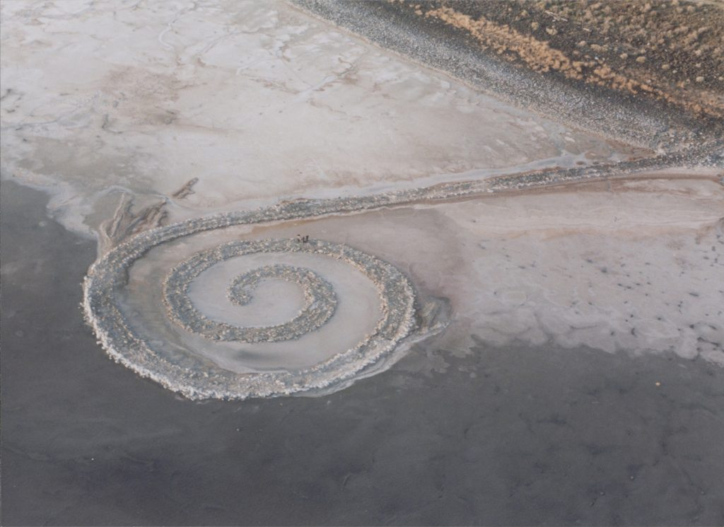 'opera Spiral Getty di Robert Smithson