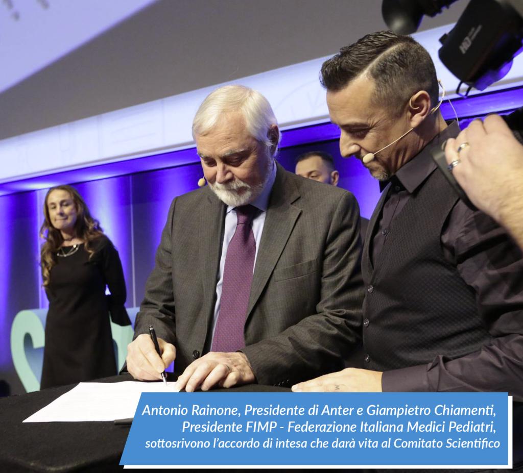 Antonio Rainone, Presidente ANTER e Giampietro Chiamenti, Presidente FIMP