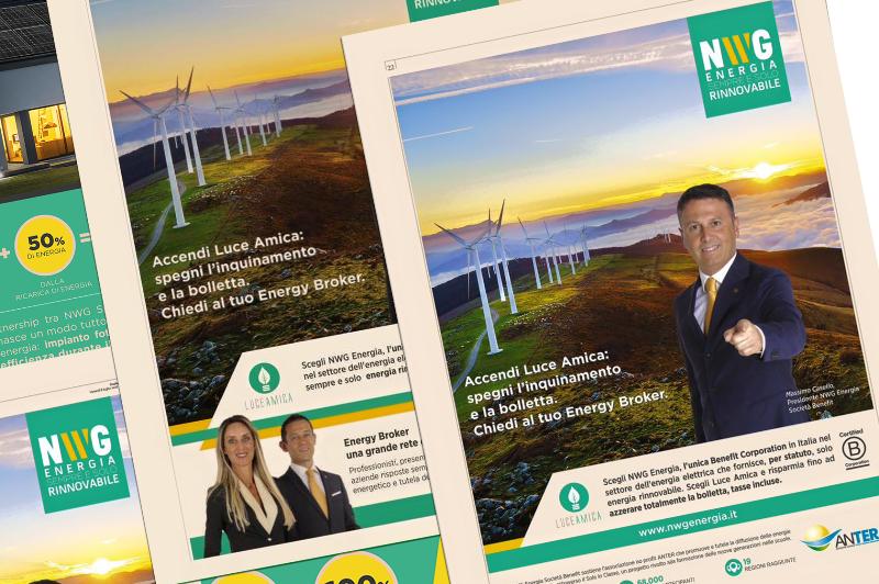 Un esempio di campagna di sensibilizzazione della NWG Energia