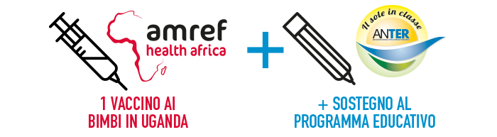 ANTER – AMREF – NWG Energia insieme per vaccini salvavita