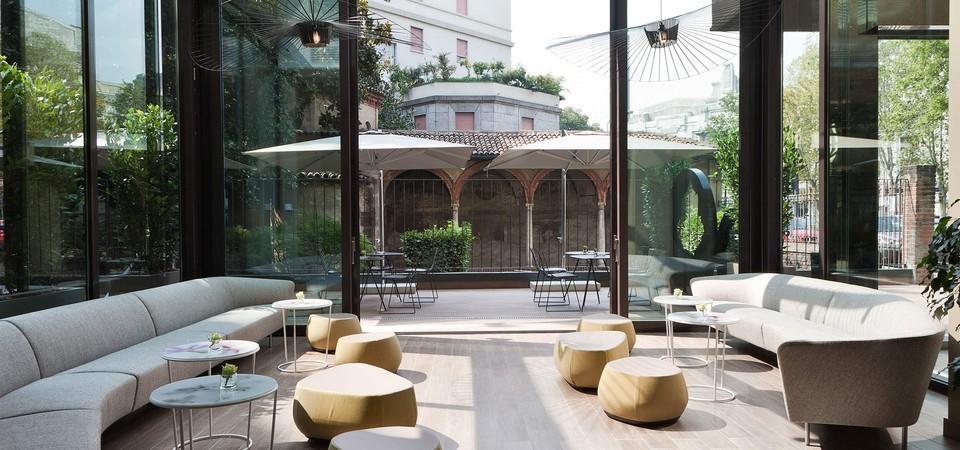L'hotel Echo di Milano