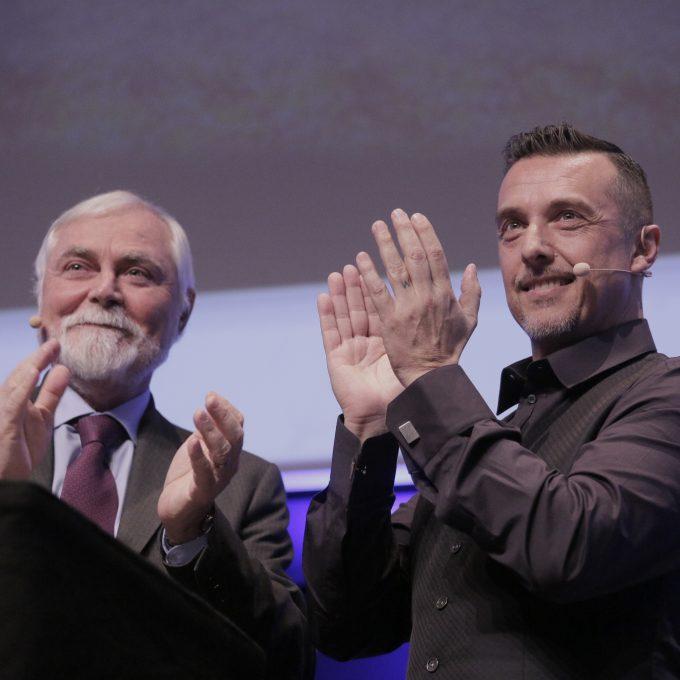 Anter Green Awards 2017 Giampietro Chiamenti e Antonio Rainone