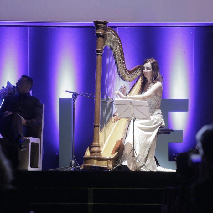 Anter Green Awards 2017, l'arpista Chiara Visentini