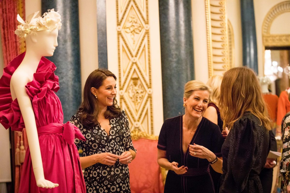 he-Duchess-of-Cambridge-and-HRH-The-Countess-of-Wessex-with-Stella-McCartney