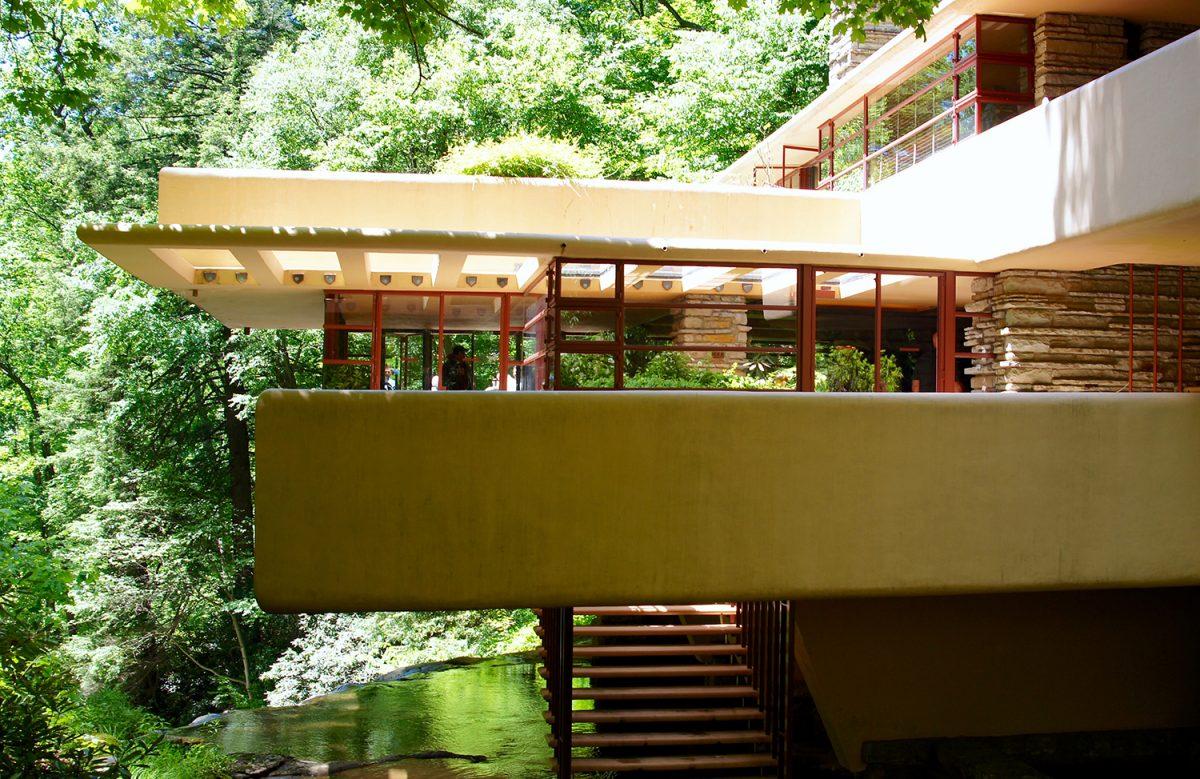 La casa sulla cascata di wright e l 39 architettura organica for Architettura wright