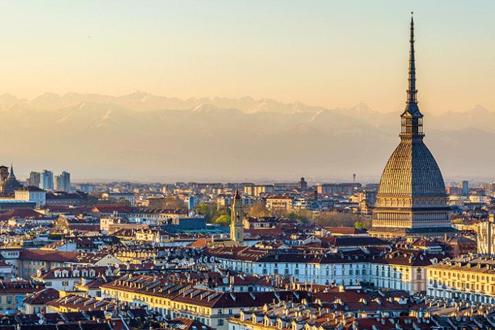 Veduta dall'alto di Torino