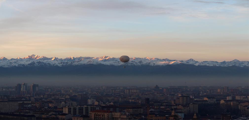 Torino sotto cappa di smog