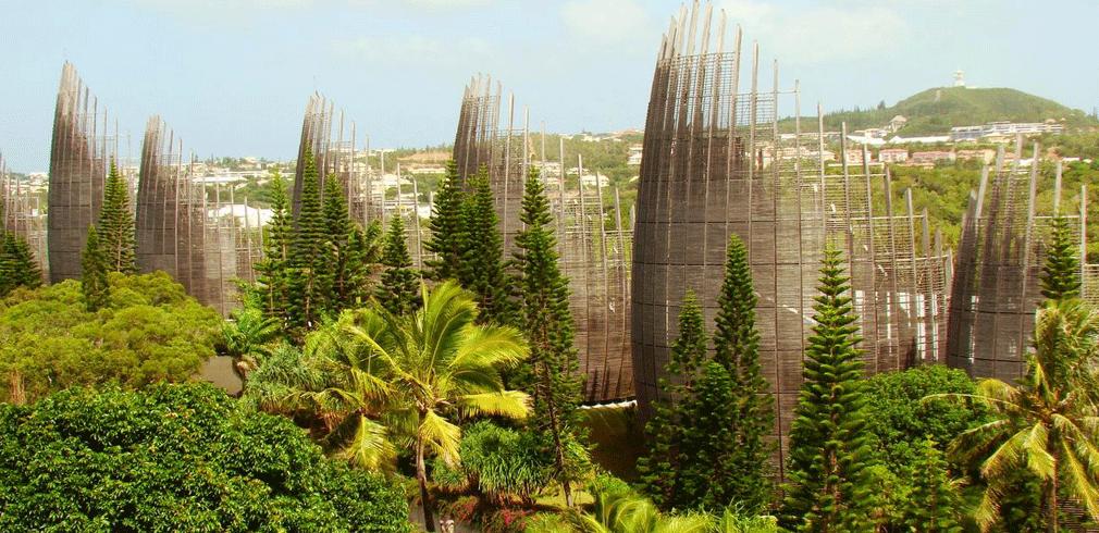 centro culturale Jean-Marie Tjibaou di Renzo Piano