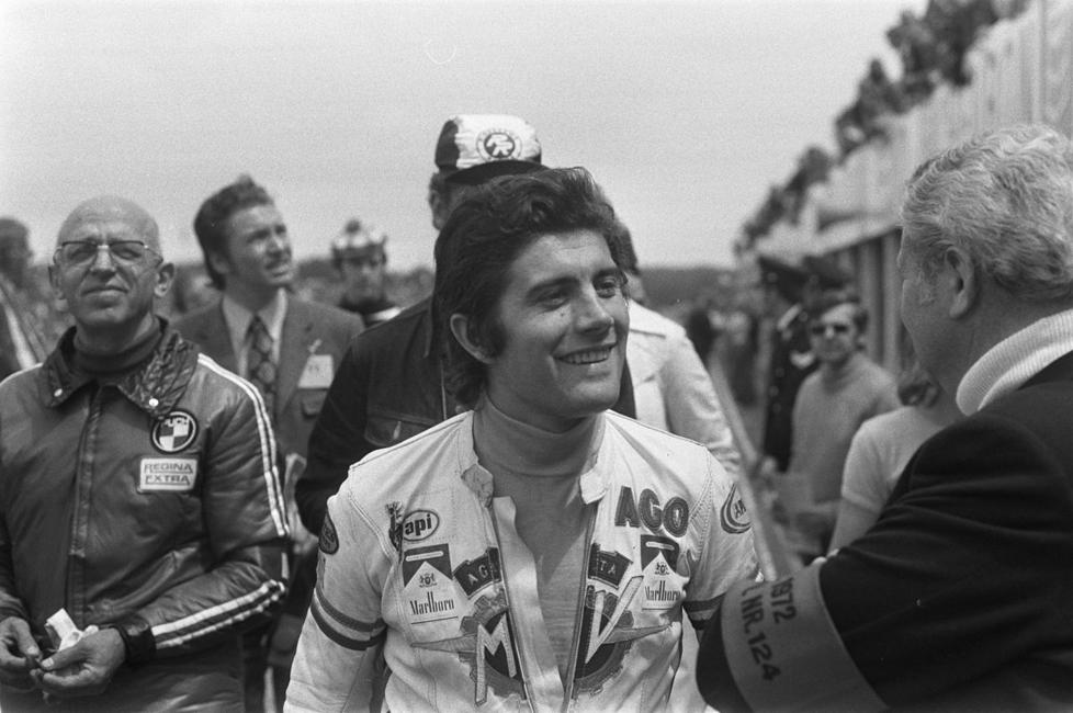 Giacomo Agostini nel 1972