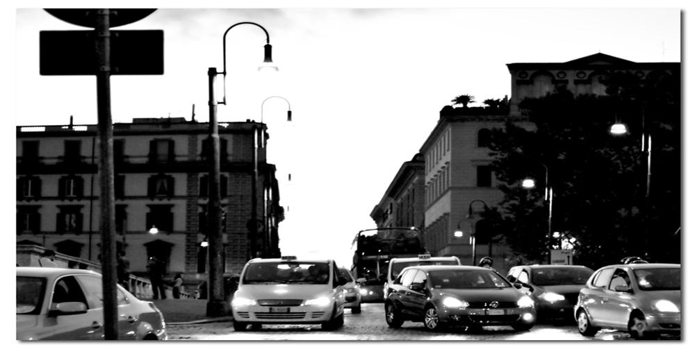 auto al semaforo