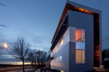 Casa solare passiva - Edmonton (Canada)