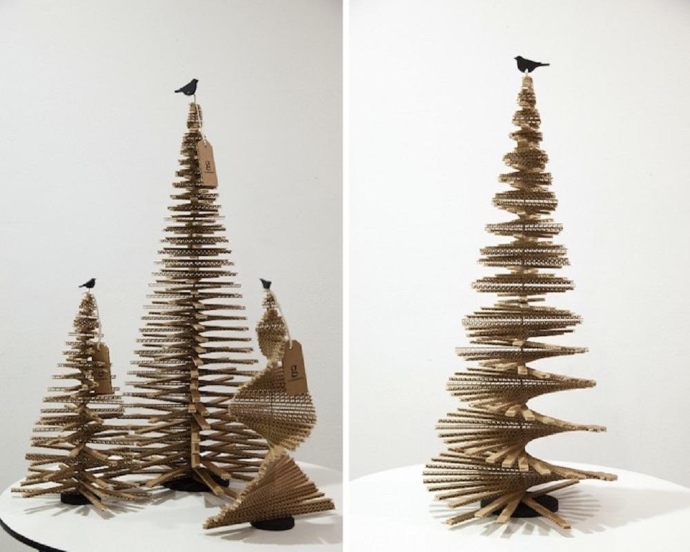 Albero Di Natale Ecologico.Quattro Idee Per Un Albero Di Natale Ecologico E Fai Da Te Anter