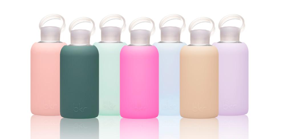 Le bottiglie ricaricabili Bkr