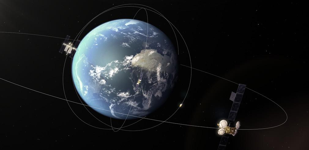 I satelliti di Copernicus Sentinel 1 e 2 e quello dell'EDRS-A