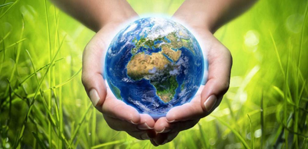Due mani tengono il globo terrestre