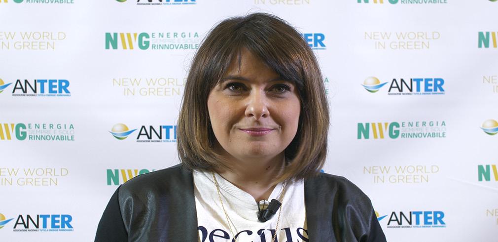 "Claudia Laricchia di Future Food Institute in occasione di ""New World in Green"""