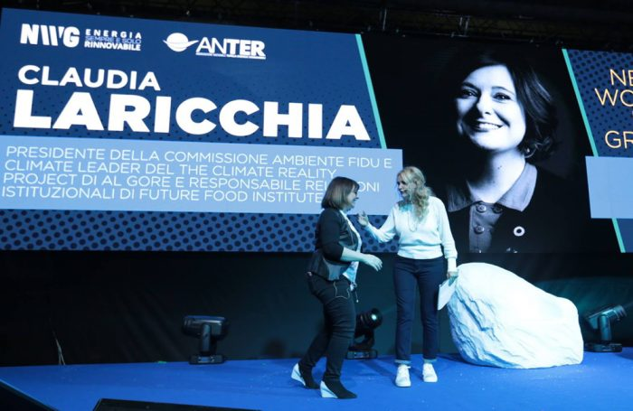 "Claudia Laricchia ospite del talk scientifico di apertura di ""New World in Green"", l'evento promosso da Anter a Roma il 14 aprile 2019"
