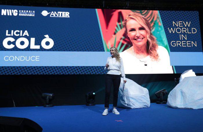 """Licia Colò conduce il talk di apertura di """"New World in Green"""", l'evento promosso da Anter il 14 aprile a Roma"""