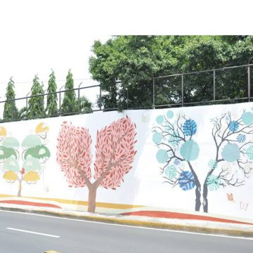 10 - Tbwa Art Department, Edsa avenue, Manila (Filippine)