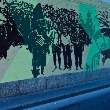 4 - Conoscere la guerra per amare la Pace, di Orticanoodles, Milano (quartiere Ortica)