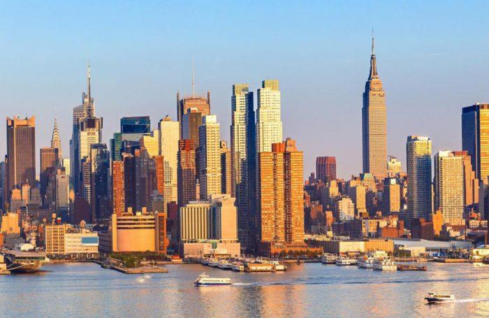 Una veduta di New York